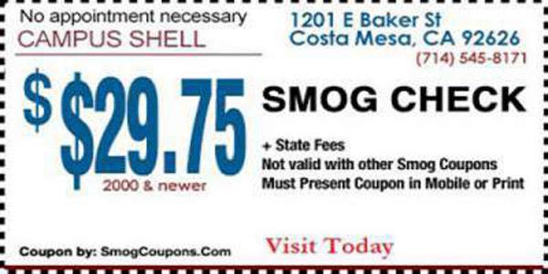 Ca dmv smog check waiver